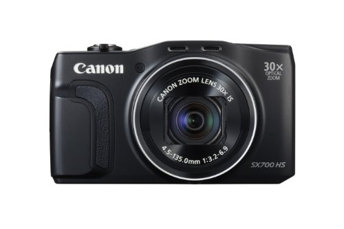 Canon PowerShot SX700 HS Digital Camera (Black)