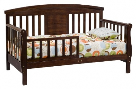 DaVinci Elizabeth II Convertible Covertible Toddler Bed in Espresso