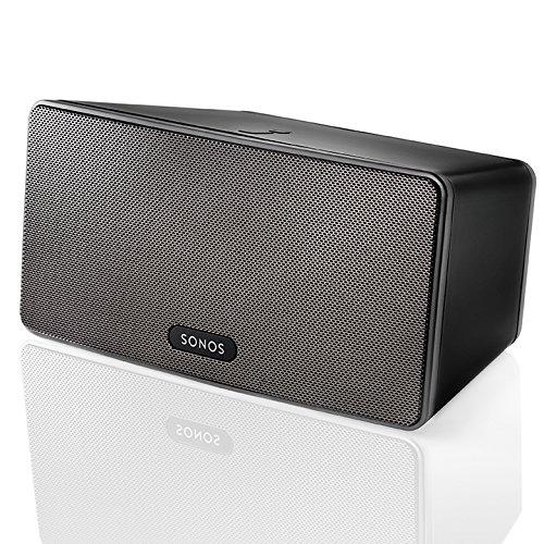 SONOS – PLAY:3 Wireless Speaker for Streaming Music (Medium) – Black