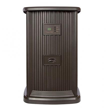 Essick Air EP9 800 Digital Whole-House Pedestal-Style Evaporative Humidifier, Espresso