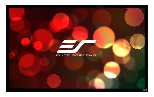 Elite Screens 92 Inch 16:9 SableFrame Fixed Projection Screen (45″Hx79.9″W)