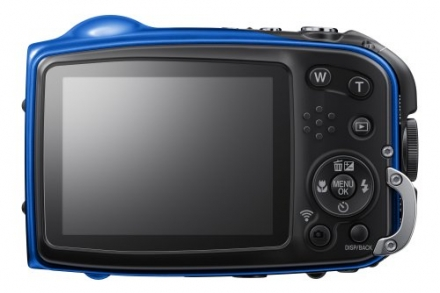 Fujifilm XP70 16 MP Digital Camera with 2.7-Inch LCD (Blue)