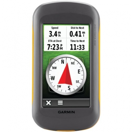 Garmin Montana 600 Waterproof Hiking GPS