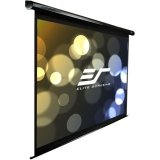 Elite Screens VMAX110UWH2 VMAX2 Electric Projector Screen (110 inch Diagonal 16:9 Ratio 54″Hx96″W)