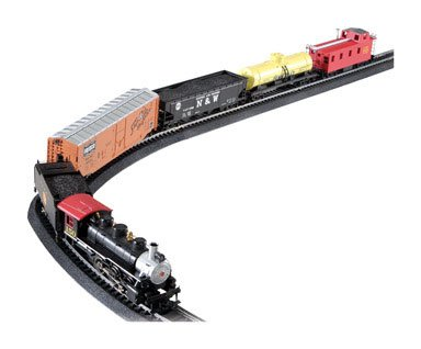 Bachmann Trains Chattanooga Ready – To – Run Ho Scale Train Set