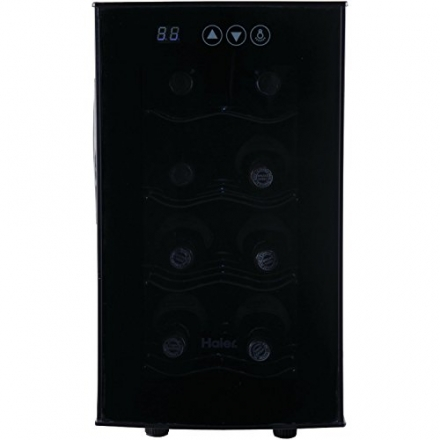 Haier 8-Bottle Bottle Wine Cellar with Electronic Controls