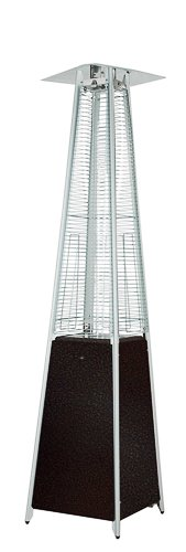 AZ Patio Heaters HLDSO-WGTHG Quartz Glass Tube Patio Heater, Hammered Bronze