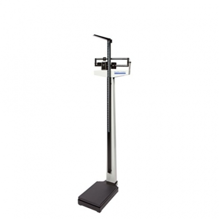 Healthometer 402KL Physician Beam Scale w/ Height Rod (390 lb / 180 kg)