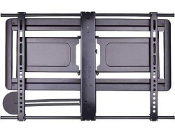 Sanus VLF410B1 10-Inch Super Slim Full-Motion Mount for 37 – 84 Inches TV's, Black