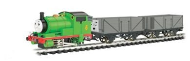 Bachmann Trains Percy and the Troublesome Trucks Ready-to-Run Large Scale Train Set