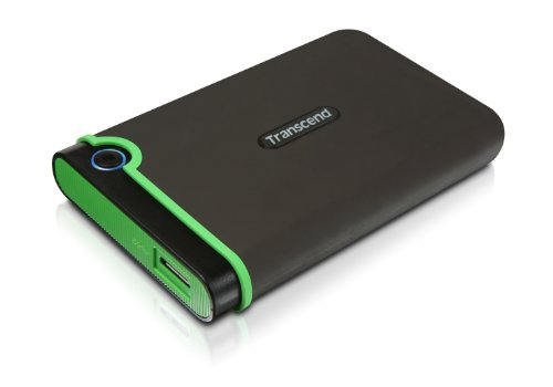 Transcend 2 TB USB 3.0 External Hard Drive – Military Drop Standards (TS2TSJ25M3)
