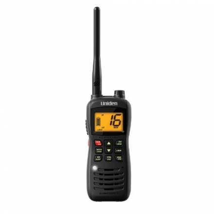 Uniden Handheld Floating Two-Way VHF Marine Radio (MHS126)