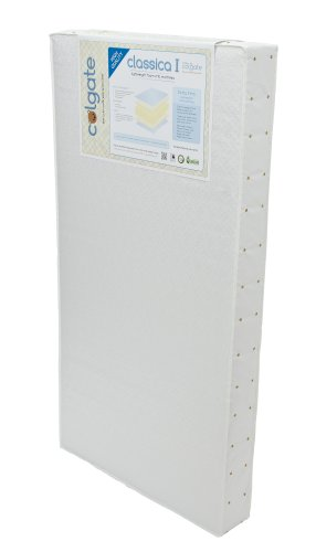 Colgate Classica I Foam Crib Mattress, White