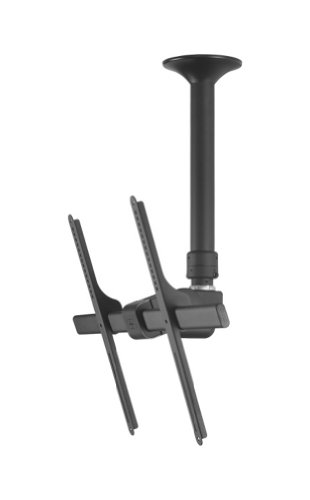 ATDEC TH-3070-CTS Telehook Short Tilting Ceiling for 30-Inch to 70-Inch TV Mount Pole, Black