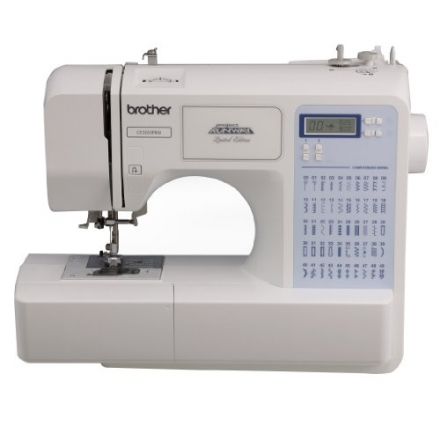 Brother Project Runway CS5055PRW Electric Sewing Machine – 50 Built-In Stitches – Automatic Threadin