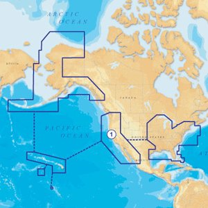 Navionics NAV-MSD/1XG Gold All USA and Northern Bahamas on SD/microSD Card