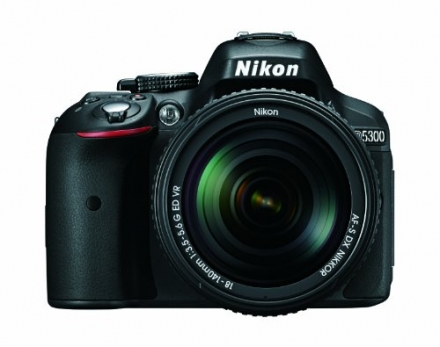 Nikon D5300 24.2 MP CMOS Digital SLR Camera with 18-140mm f/3.5-5.6G ED VR AF-S DX NIKKOR Zoom Lens