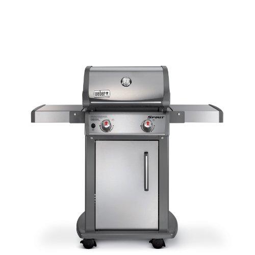 Weber 46100001 Spirit S210 Liquid Propane Gas Grill, Stainless Steel