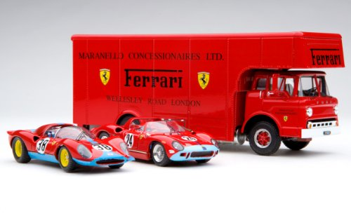 1966 Exoto 'C Type' Race Car Transporter Gift Set