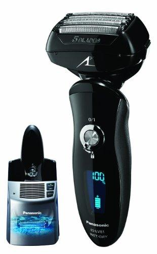 Panasonic ES-LV81-K Arc5 Men's Electric Shaver Wet/Dry with Multi-Flex Pivoting Head and Automatic C