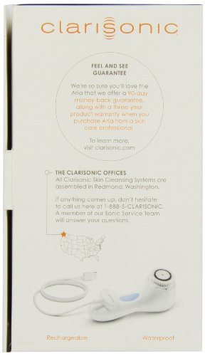 Clarisonic Aria Sonic Skin Cleansing Kit, White