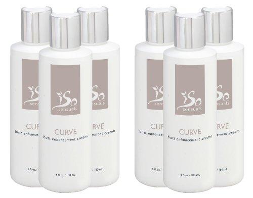 IsoSensuals CURVE   Butt Enhancement Cream – 6 Bottles