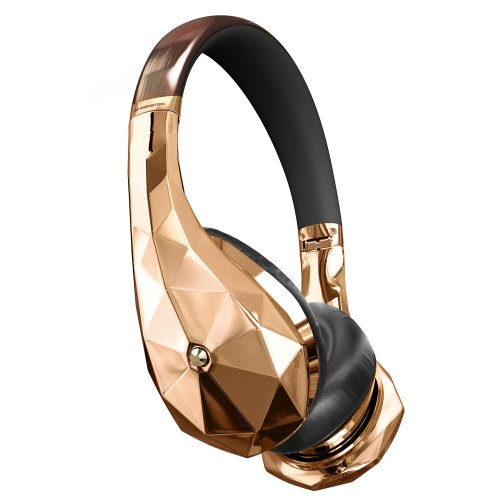 Monster® DiamondZ Rose Gold On-Ear Headphones, Apple & Universal CT – Rose Gold