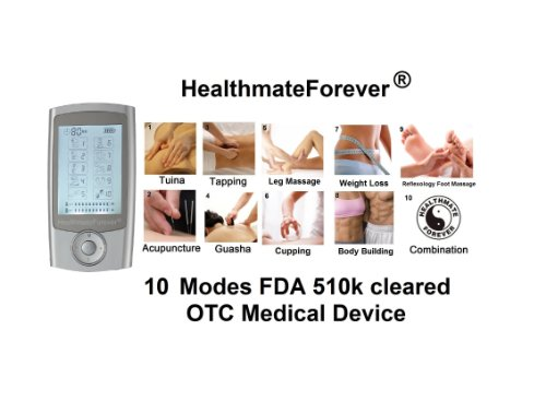 FDA cleared 2014 version HealthmateForever 2in1 double value Pro8AB10M 10 modes the second best elec