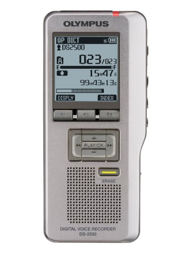 Olympus DS-2500 Digital Recorder Voice Recorder