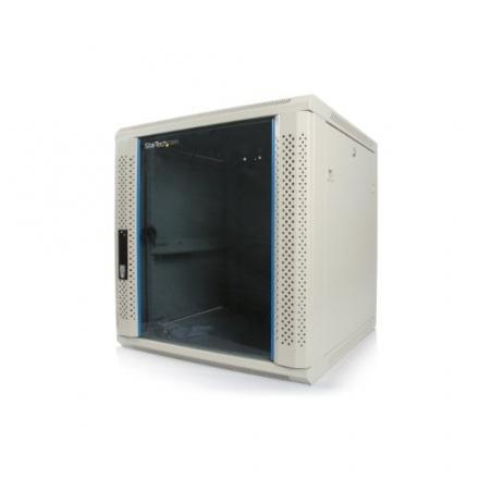 StarTech.com 12U 19-Inch Wall Mounted Server Rack Cabinet RK1219WALL (Beige)