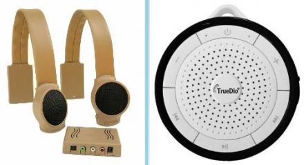 FREE!!! – Truedio Speaker w/ Audio Fox Wireless Tv Speakers (Tan) purchase