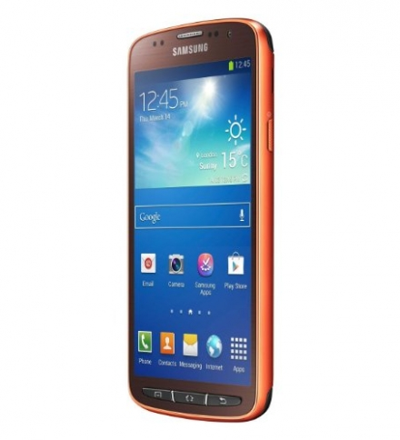 NEW Samsung Galaxy S4 Active Orange Flare 16gb I9295 4g LTE ★ Factory Unlocked Best Gift Fast Ship