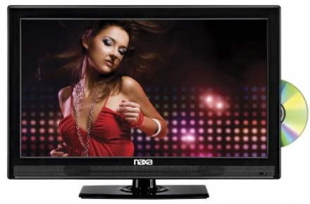NAXA Electronics NTD-1552 15.6-Inch Widescreen HD LED TV with Built-in Digital TV Tuner and USB/SD I