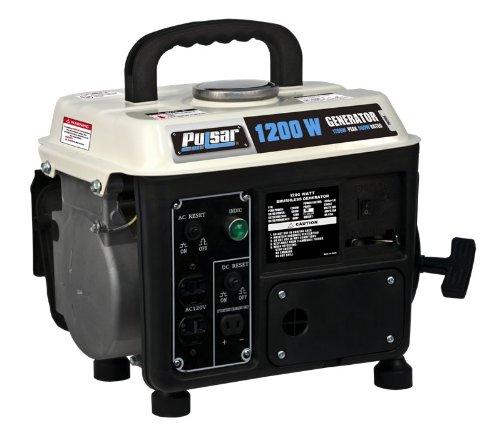 Pulsar PG1202S Gas Powered Generator, 1200-watt Ouput