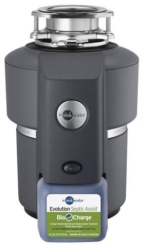 InSinkErator Evolution Septic Assist 3/4 HP Household Garbage Disposer