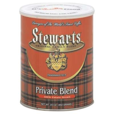 Stewarts Private Blend Coffee, 23 OZ (Pack of 6)