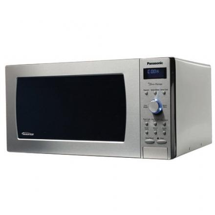 "Panasonic NN-SD797S Genius ""Prestige"" 1.6 cuft 1250-Watt Sensor Microwave with Inverter Technology &"