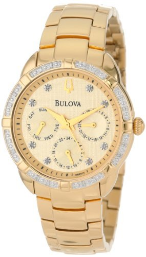 Bulova Women's 98R171 Diamond Set Case Watch