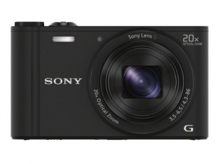 Sony WX350 18 MP Digital Camera (Black)