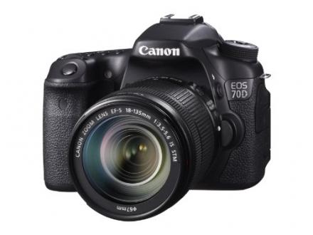Canon EOS 70D Digital SLR Camera with 18-135mm STM Lens