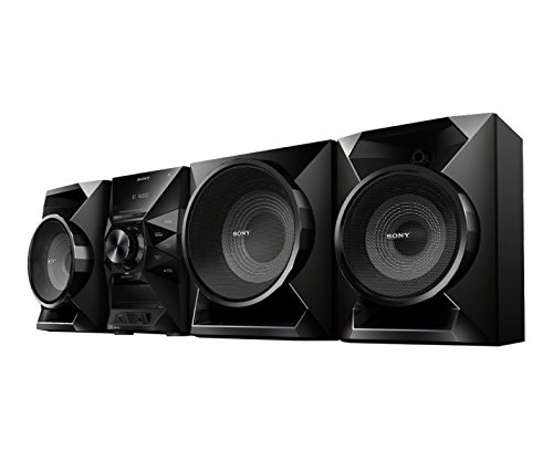 Sony Bluetooth Hi-fi Stereo Shelf System with Single Disc Cd Player, USB Input, 2-Way, Bass Reflex S