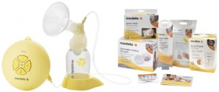 Medela Electric Breastpump – Swing Set w/ Free Accessories