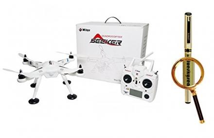 Blueskysea Free Gift Gel Pen + Wltoys V303 Seeker Quadrocopter 2.4G FPV GPS RC Quadcopter Mount