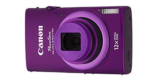 Canon PowerShot ELPH 340 HS 16MP Digital Camera (Purple)