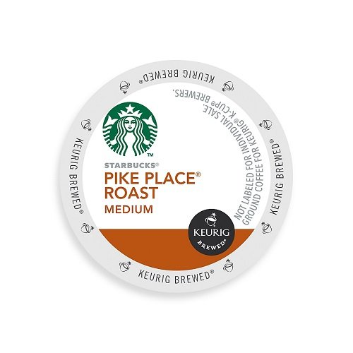 Starbucks Pike Place Torrefaction Roast, K-Cup for Keurig Brewers, 160-count