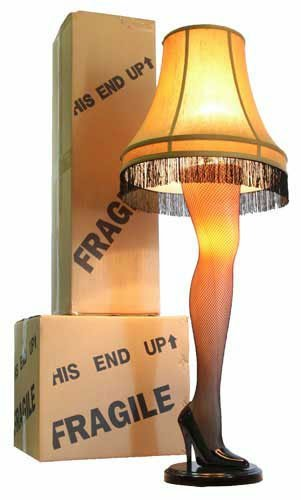 A Christmas Story Full Size 45″ Leg Lamp
