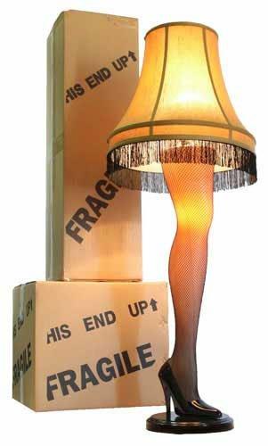 A Christmas Story Full Size 45″ Leg Lamp