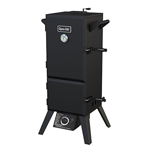 Dyna-Glo DGY784BDP Double Door Vertical Smoker-15,000 BTU Propane Gas