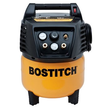 BOSTITCH BTFP02011 6-Gallon Oil-Free Pancake Compressor