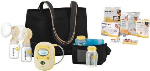 Medela Electric Breastpump – Freestyle Starter Set w/ Free Accessories